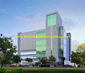 Pasang Curtain Wall