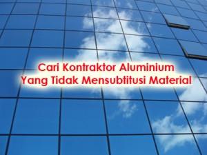 kontraktor aluminium dan kaca